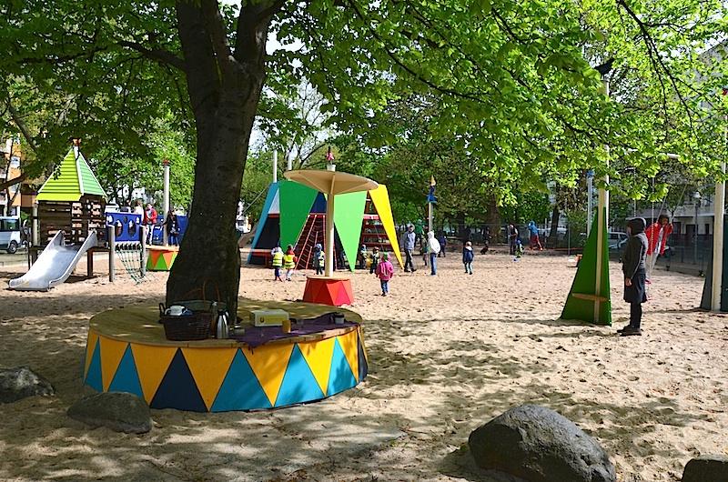 zirkus sparrplatz berlin wedding 02 gisbert baarmann. Black Bedroom Furniture Sets. Home Design Ideas